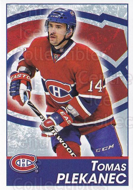 2013-14 Panini Stickers #91 Tomas Plekanec<br/>2 In Stock - $1.00 each - <a href=https://centericecollectibles.foxycart.com/cart?name=2013-14%20Panini%20Stickers%20%2391%20Tomas%20Plekanec...&quantity_max=2&price=$1.00&code=767542 class=foxycart> Buy it now! </a>