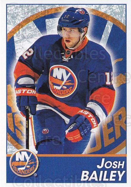 2013-14 Panini Stickers #109 Josh Bailey<br/>2 In Stock - $1.00 each - <a href=https://centericecollectibles.foxycart.com/cart?name=2013-14%20Panini%20Stickers%20%23109%20Josh%20Bailey...&quantity_max=2&price=$1.00&code=767560 class=foxycart> Buy it now! </a>