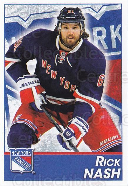2013-14 Panini Stickers #114 Rick Nash<br/>2 In Stock - $1.00 each - <a href=https://centericecollectibles.foxycart.com/cart?name=2013-14%20Panini%20Stickers%20%23114%20Rick%20Nash...&quantity_max=2&price=$1.00&code=767565 class=foxycart> Buy it now! </a>