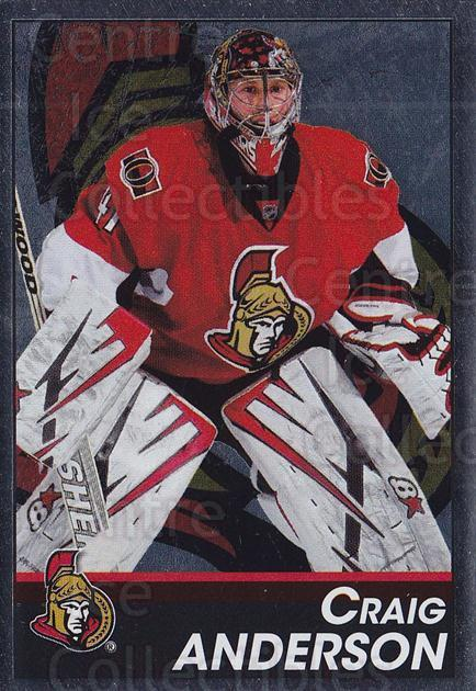 2013-14 Panini Stickers #119 Craig Anderson<br/>2 In Stock - $1.00 each - <a href=https://centericecollectibles.foxycart.com/cart?name=2013-14%20Panini%20Stickers%20%23119%20Craig%20Anderson...&quantity_max=2&price=$1.00&code=767570 class=foxycart> Buy it now! </a>