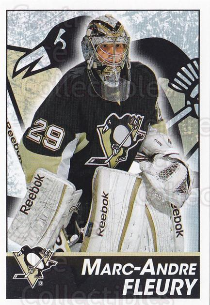 2013-14 Panini Stickers #138 Marc-Andre Fleury<br/>2 In Stock - $3.00 each - <a href=https://centericecollectibles.foxycart.com/cart?name=2013-14%20Panini%20Stickers%20%23138%20Marc-Andre%20Fleu...&quantity_max=2&price=$3.00&code=767589 class=foxycart> Buy it now! </a>