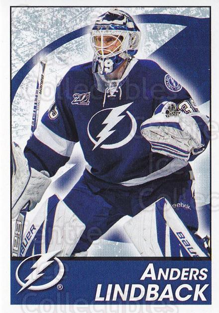 2013-14 Panini Stickers #147 Anders Lindback<br/>2 In Stock - $1.00 each - <a href=https://centericecollectibles.foxycart.com/cart?name=2013-14%20Panini%20Stickers%20%23147%20Anders%20Lindback...&quantity_max=2&price=$1.00&code=767598 class=foxycart> Buy it now! </a>