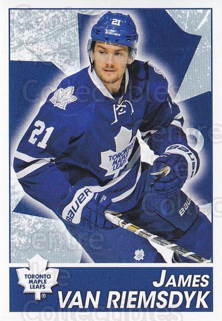 2013-14 Panini Stickers #159 James van Riemsdyk<br/>2 In Stock - $1.00 each - <a href=https://centericecollectibles.foxycart.com/cart?name=2013-14%20Panini%20Stickers%20%23159%20James%20van%20Riems...&quantity_max=2&price=$1.00&code=767610 class=foxycart> Buy it now! </a>