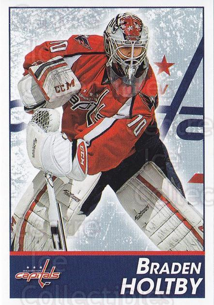 2013-14 Panini Stickers #165 Braden Holtby<br/>2 In Stock - $1.00 each - <a href=https://centericecollectibles.foxycart.com/cart?name=2013-14%20Panini%20Stickers%20%23165%20Braden%20Holtby...&quantity_max=2&price=$1.00&code=767616 class=foxycart> Buy it now! </a>