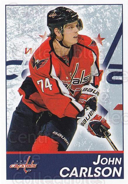 2013-14 Panini Stickers #166 John Carlson<br/>2 In Stock - $1.00 each - <a href=https://centericecollectibles.foxycart.com/cart?name=2013-14%20Panini%20Stickers%20%23166%20John%20Carlson...&quantity_max=2&price=$1.00&code=767617 class=foxycart> Buy it now! </a>