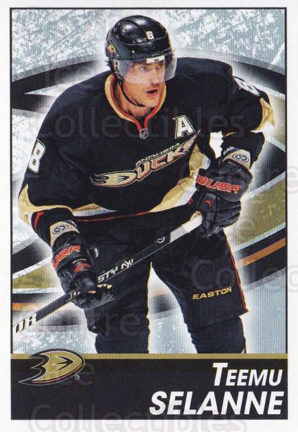 2013-14 Panini Stickers #177 Teemu Selanne<br/>2 In Stock - $3.00 each - <a href=https://centericecollectibles.foxycart.com/cart?name=2013-14%20Panini%20Stickers%20%23177%20Teemu%20Selanne...&quantity_max=2&price=$3.00&code=767628 class=foxycart> Buy it now! </a>
