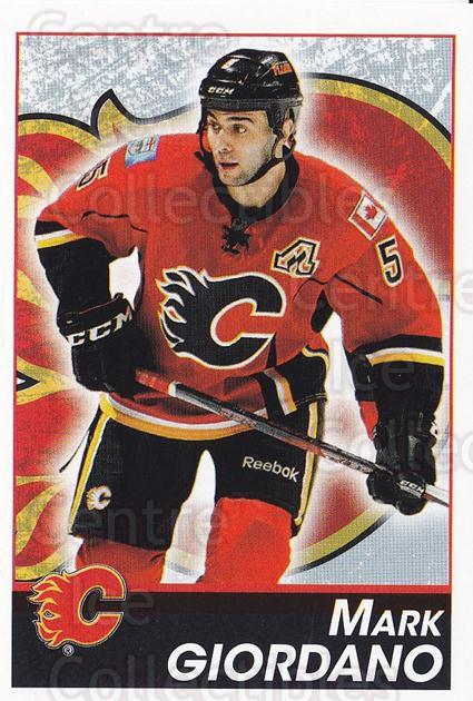 2013-14 Panini Stickers #182 Mark Giordano<br/>2 In Stock - $1.00 each - <a href=https://centericecollectibles.foxycart.com/cart?name=2013-14%20Panini%20Stickers%20%23182%20Mark%20Giordano...&quantity_max=2&price=$1.00&code=767633 class=foxycart> Buy it now! </a>
