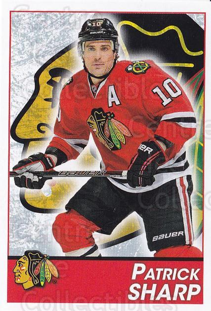 2013-14 Panini Stickers #194 Patrick Sharp<br/>2 In Stock - $1.00 each - <a href=https://centericecollectibles.foxycart.com/cart?name=2013-14%20Panini%20Stickers%20%23194%20Patrick%20Sharp...&quantity_max=2&price=$1.00&code=767645 class=foxycart> Buy it now! </a>