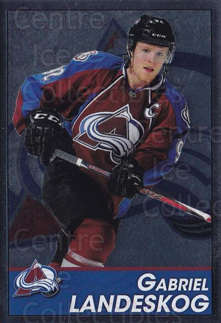 2013-14 Panini Stickers #202 Gabriel Landeskog<br/>2 In Stock - $1.00 each - <a href=https://centericecollectibles.foxycart.com/cart?name=2013-14%20Panini%20Stickers%20%23202%20Gabriel%20Landesk...&quantity_max=2&price=$1.00&code=767653 class=foxycart> Buy it now! </a>