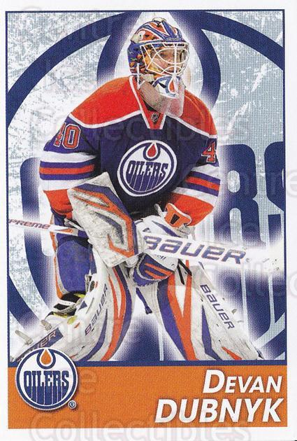 2013-14 Panini Stickers #218 Devan Dubnyk<br/>2 In Stock - $1.00 each - <a href=https://centericecollectibles.foxycart.com/cart?name=2013-14%20Panini%20Stickers%20%23218%20Devan%20Dubnyk...&quantity_max=2&price=$1.00&code=767669 class=foxycart> Buy it now! </a>
