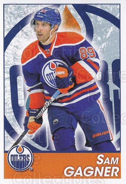 2013-14 Panini Stickers #225 Sam Gagner<br/>2 In Stock - $1.00 each - <a href=https://centericecollectibles.foxycart.com/cart?name=2013-14%20Panini%20Stickers%20%23225%20Sam%20Gagner...&quantity_max=2&price=$1.00&code=767676 class=foxycart> Buy it now! </a>