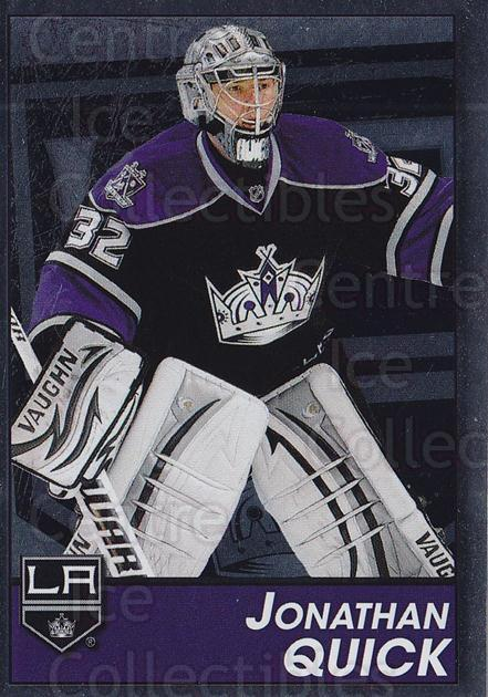 2013-14 Panini Stickers #227 Jonathan Quick<br/>2 In Stock - $1.00 each - <a href=https://centericecollectibles.foxycart.com/cart?name=2013-14%20Panini%20Stickers%20%23227%20Jonathan%20Quick...&quantity_max=2&price=$1.00&code=767678 class=foxycart> Buy it now! </a>
