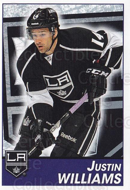 2013-14 Panini Stickers #230 Justin Williams<br/>2 In Stock - $1.00 each - <a href=https://centericecollectibles.foxycart.com/cart?name=2013-14%20Panini%20Stickers%20%23230%20Justin%20Williams...&quantity_max=2&price=$1.00&code=767681 class=foxycart> Buy it now! </a>