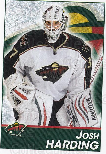 2013-14 Panini Stickers #236 Josh Harding<br/>2 In Stock - $1.00 each - <a href=https://centericecollectibles.foxycart.com/cart?name=2013-14%20Panini%20Stickers%20%23236%20Josh%20Harding...&quantity_max=2&price=$1.00&code=767687 class=foxycart> Buy it now! </a>