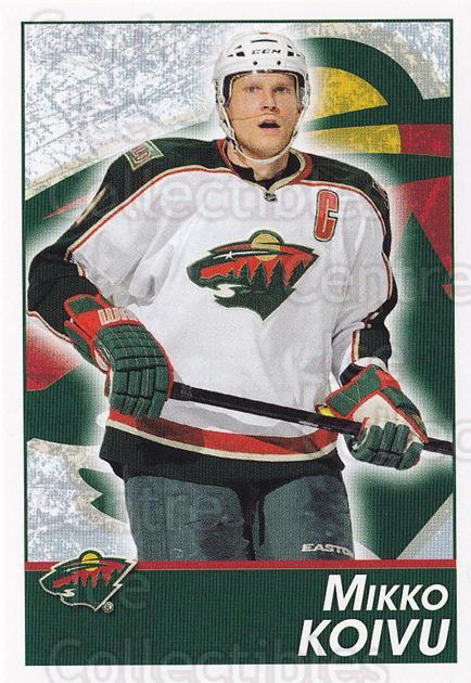 2013-14 Panini Stickers #244 Mikko Koivu<br/>2 In Stock - $1.00 each - <a href=https://centericecollectibles.foxycart.com/cart?name=2013-14%20Panini%20Stickers%20%23244%20Mikko%20Koivu...&quantity_max=2&price=$1.00&code=767695 class=foxycart> Buy it now! </a>