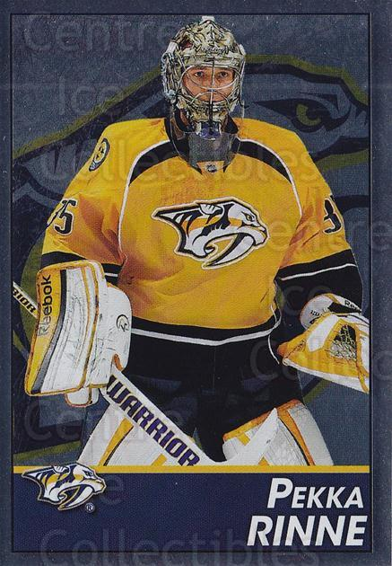 2013-14 Panini Stickers #245 Pekka Rinne<br/>2 In Stock - $1.00 each - <a href=https://centericecollectibles.foxycart.com/cart?name=2013-14%20Panini%20Stickers%20%23245%20Pekka%20Rinne...&quantity_max=2&price=$1.00&code=767696 class=foxycart> Buy it now! </a>