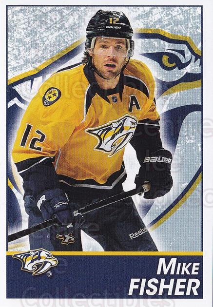 2013-14 Panini Stickers #253 Mike Fisher<br/>2 In Stock - $1.00 each - <a href=https://centericecollectibles.foxycart.com/cart?name=2013-14%20Panini%20Stickers%20%23253%20Mike%20Fisher...&quantity_max=2&price=$1.00&code=767704 class=foxycart> Buy it now! </a>