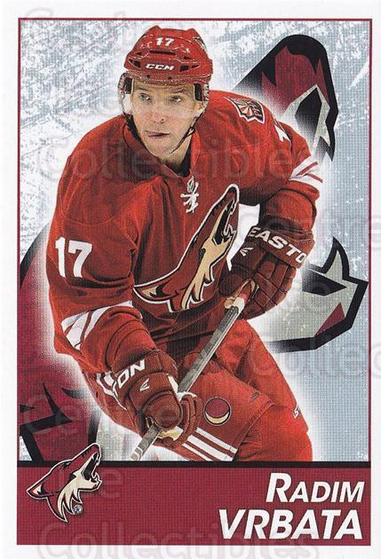 2013-14 Panini Stickers #260 Radim Vrbata<br/>2 In Stock - $1.00 each - <a href=https://centericecollectibles.foxycart.com/cart?name=2013-14%20Panini%20Stickers%20%23260%20Radim%20Vrbata...&quantity_max=2&price=$1.00&code=767711 class=foxycart> Buy it now! </a>