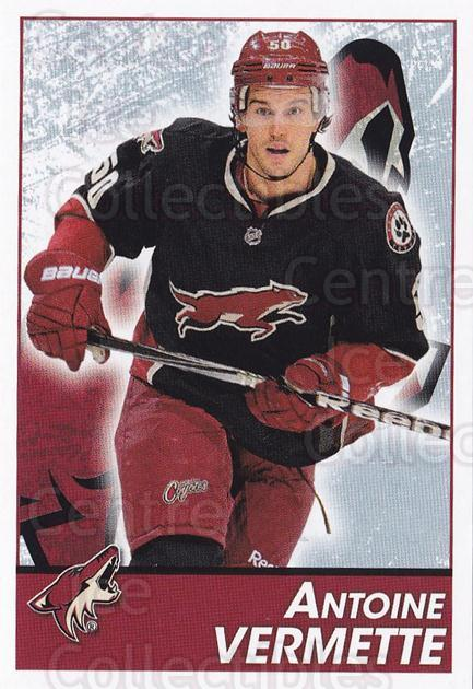 2013-14 Panini Stickers #262 Antoine Vermette<br/>2 In Stock - $1.00 each - <a href=https://centericecollectibles.foxycart.com/cart?name=2013-14%20Panini%20Stickers%20%23262%20Antoine%20Vermett...&quantity_max=2&price=$1.00&code=767713 class=foxycart> Buy it now! </a>