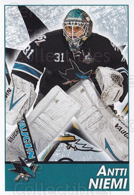 2013-14 Panini Stickers #263 Antti Niemi<br/>2 In Stock - $1.00 each - <a href=https://centericecollectibles.foxycart.com/cart?name=2013-14%20Panini%20Stickers%20%23263%20Antti%20Niemi...&quantity_max=2&price=$1.00&code=767714 class=foxycart> Buy it now! </a>