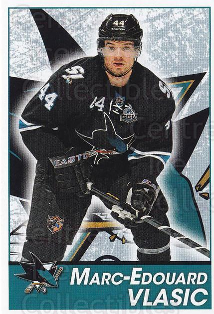 2013-14 Panini Stickers #266 Marc-Edouard Vlasic<br/>2 In Stock - $1.00 each - <a href=https://centericecollectibles.foxycart.com/cart?name=2013-14%20Panini%20Stickers%20%23266%20Marc-Edouard%20Vl...&quantity_max=2&price=$1.00&code=767717 class=foxycart> Buy it now! </a>