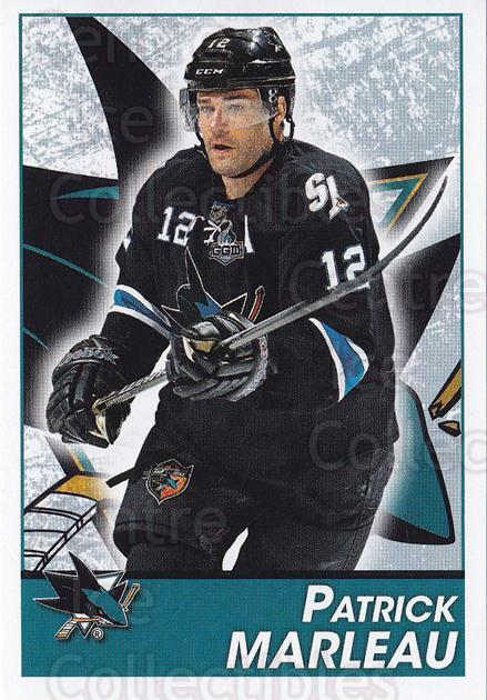 2013-14 Panini Stickers #267 Patrick Marleau<br/>2 In Stock - $1.00 each - <a href=https://centericecollectibles.foxycart.com/cart?name=2013-14%20Panini%20Stickers%20%23267%20Patrick%20Marleau...&quantity_max=2&price=$1.00&code=767718 class=foxycart> Buy it now! </a>