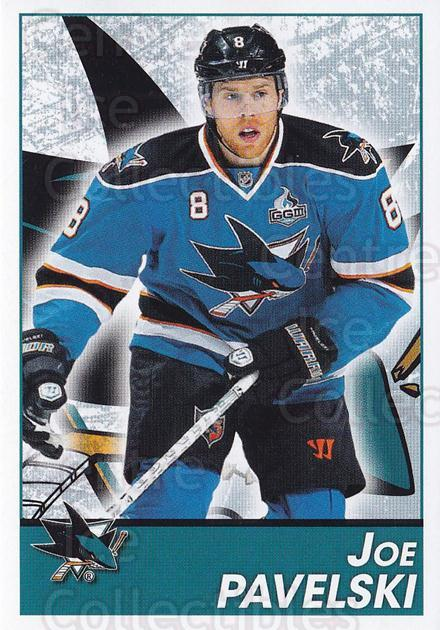 2013-14 Panini Stickers #271 Joe Pavelski<br/>2 In Stock - $1.00 each - <a href=https://centericecollectibles.foxycart.com/cart?name=2013-14%20Panini%20Stickers%20%23271%20Joe%20Pavelski...&quantity_max=2&price=$1.00&code=767722 class=foxycart> Buy it now! </a>