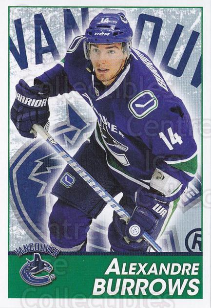 2013-14 Panini Stickers #287 Alexandre Burrows<br/>2 In Stock - $1.00 each - <a href=https://centericecollectibles.foxycart.com/cart?name=2013-14%20Panini%20Stickers%20%23287%20Alexandre%20Burro...&quantity_max=2&price=$1.00&code=767738 class=foxycart> Buy it now! </a>