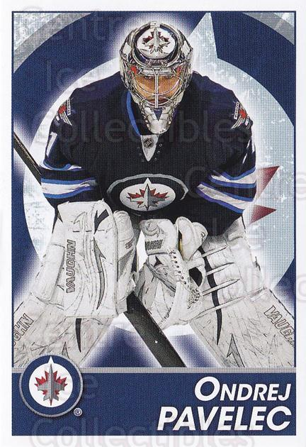 2013-14 Panini Stickers #290 Ondrej Pavelec<br/>2 In Stock - $1.00 each - <a href=https://centericecollectibles.foxycart.com/cart?name=2013-14%20Panini%20Stickers%20%23290%20Ondrej%20Pavelec...&quantity_max=2&price=$1.00&code=767741 class=foxycart> Buy it now! </a>