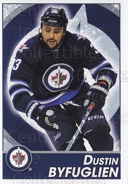 2013-14 Panini Stickers #291 Dustin Byfuglien<br/>2 In Stock - $1.00 each - <a href=https://centericecollectibles.foxycart.com/cart?name=2013-14%20Panini%20Stickers%20%23291%20Dustin%20Byfuglie...&quantity_max=2&price=$1.00&code=767742 class=foxycart> Buy it now! </a>