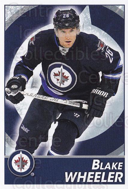 2013-14 Panini Stickers #296 Blake Wheeler<br/>2 In Stock - $1.00 each - <a href=https://centericecollectibles.foxycart.com/cart?name=2013-14%20Panini%20Stickers%20%23296%20Blake%20Wheeler...&quantity_max=2&price=$1.00&code=767747 class=foxycart> Buy it now! </a>