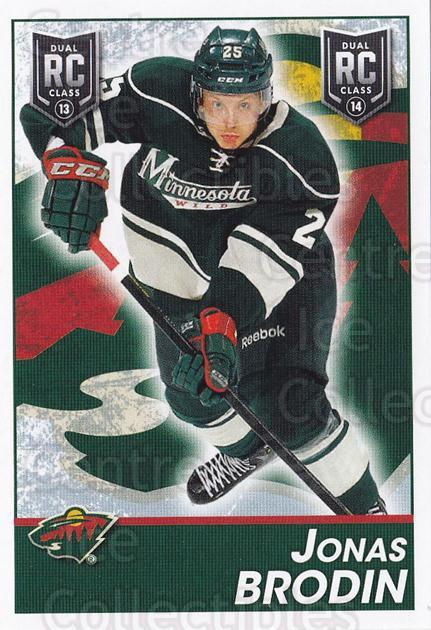 2013-14 Panini Stickers #300 Jonas Brodin<br/>2 In Stock - $2.00 each - <a href=https://centericecollectibles.foxycart.com/cart?name=2013-14%20Panini%20Stickers%20%23300%20Jonas%20Brodin...&quantity_max=2&price=$2.00&code=767751 class=foxycart> Buy it now! </a>