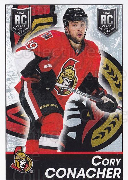 2013-14 Panini Stickers #303 Cory Conacher<br/>2 In Stock - $2.00 each - <a href=https://centericecollectibles.foxycart.com/cart?name=2013-14%20Panini%20Stickers%20%23303%20Cory%20Conacher...&quantity_max=2&price=$2.00&code=767754 class=foxycart> Buy it now! </a>