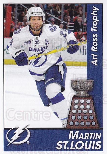 2013-14 Panini Stickers #327 Martin St Louis, Art Ross Trophy<br/>2 In Stock - $2.00 each - <a href=https://centericecollectibles.foxycart.com/cart?name=2013-14%20Panini%20Stickers%20%23327%20Martin%20St%20Louis...&quantity_max=2&price=$2.00&code=767778 class=foxycart> Buy it now! </a>