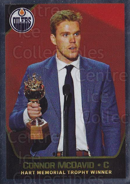 2017-18 Panini Stickers #1 Connor McDavid, Hart Trophy Winner<br/>1 In Stock - $5.00 each - <a href=https://centericecollectibles.foxycart.com/cart?name=2017-18%20Panini%20Stickers%20%231%20Connor%20McDavid,...&quantity_max=1&price=$5.00&code=767810 class=foxycart> Buy it now! </a>