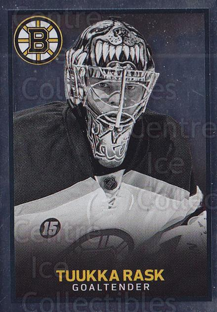 2017-18 Panini Stickers #13 Tuukka Rask<br/>1 In Stock - $2.00 each - <a href=https://centericecollectibles.foxycart.com/cart?name=2017-18%20Panini%20Stickers%20%2313%20Tuukka%20Rask...&quantity_max=1&price=$2.00&code=767822 class=foxycart> Buy it now! </a>