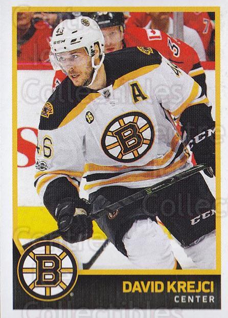 2017-18 Panini Stickers #21 David Krejci<br/>1 In Stock - $1.00 each - <a href=https://centericecollectibles.foxycart.com/cart?name=2017-18%20Panini%20Stickers%20%2321%20David%20Krejci...&quantity_max=1&price=$1.00&code=767830 class=foxycart> Buy it now! </a>