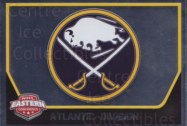 2017-18 Panini Stickers #24 Buffalo Sabres<br/>1 In Stock - $1.00 each - <a href=https://centericecollectibles.foxycart.com/cart?name=2017-18%20Panini%20Stickers%20%2324%20Buffalo%20Sabres...&quantity_max=1&price=$1.00&code=767833 class=foxycart> Buy it now! </a>