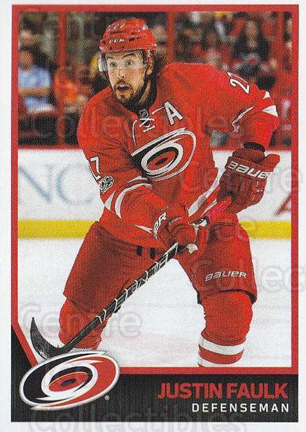 2017-18 Panini Stickers #44 Justin Faulk<br/>1 In Stock - $1.00 each - <a href=https://centericecollectibles.foxycart.com/cart?name=2017-18%20Panini%20Stickers%20%2344%20Justin%20Faulk...&quantity_max=1&price=$1.00&code=767853 class=foxycart> Buy it now! </a>