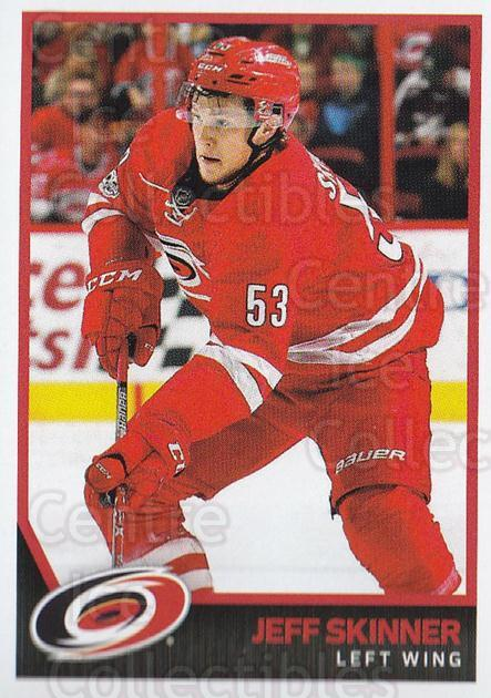 2017-18 Panini Stickers #50 Jeff Skinner<br/>1 In Stock - $1.00 each - <a href=https://centericecollectibles.foxycart.com/cart?name=2017-18%20Panini%20Stickers%20%2350%20Jeff%20Skinner...&quantity_max=1&price=$1.00&code=767859 class=foxycart> Buy it now! </a>
