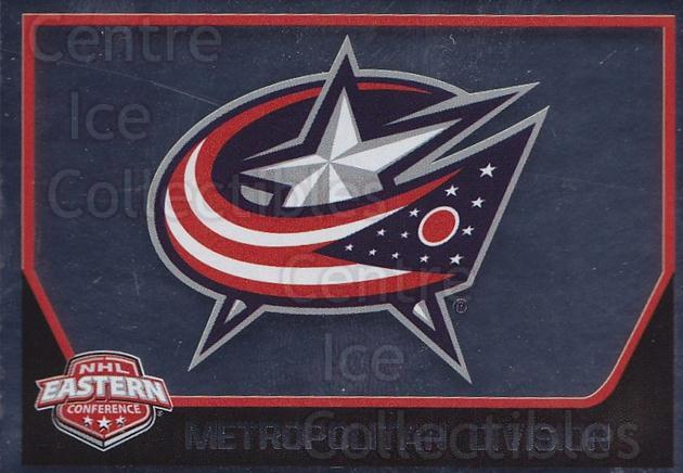 2017-18 Panini Stickers #52 Columbus Blue Jackets<br/>1 In Stock - $1.00 each - <a href=https://centericecollectibles.foxycart.com/cart?name=2017-18%20Panini%20Stickers%20%2352%20Columbus%20Blue%20J...&quantity_max=1&price=$1.00&code=767861 class=foxycart> Buy it now! </a>