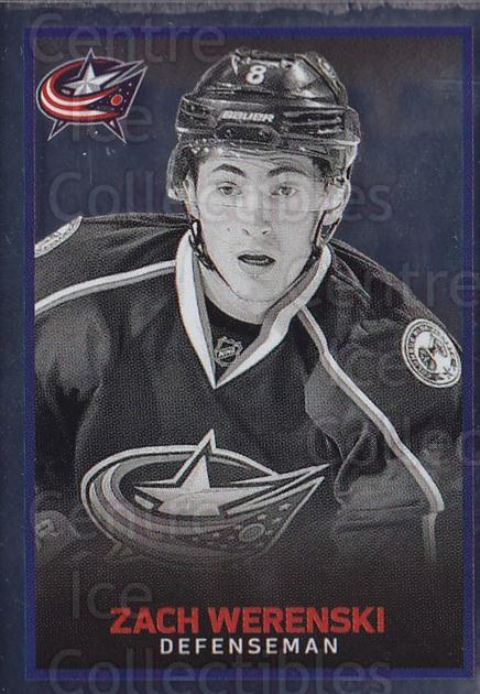 2017-18 Panini Stickers #54 Zach Werenski<br/>1 In Stock - $1.00 each - <a href=https://centericecollectibles.foxycart.com/cart?name=2017-18%20Panini%20Stickers%20%2354%20Zach%20Werenski...&quantity_max=1&price=$1.00&code=767863 class=foxycart> Buy it now! </a>