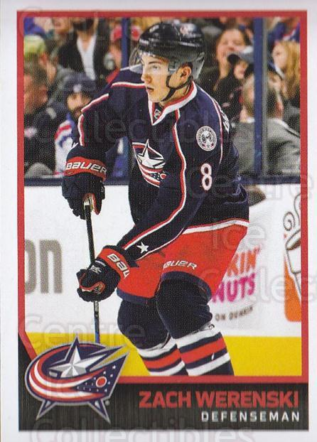 2017-18 Panini Stickers #59 Zach Werenski<br/>1 In Stock - $1.00 each - <a href=https://centericecollectibles.foxycart.com/cart?name=2017-18%20Panini%20Stickers%20%2359%20Zach%20Werenski...&quantity_max=1&price=$1.00&code=767868 class=foxycart> Buy it now! </a>