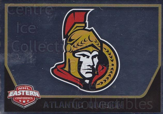 2017-18 Panini Stickers #150 Ottawa Senators<br/>1 In Stock - $1.00 each - <a href=https://centericecollectibles.foxycart.com/cart?name=2017-18%20Panini%20Stickers%20%23150%20Ottawa%20Senators...&quantity_max=1&price=$1.00&code=767959 class=foxycart> Buy it now! </a>