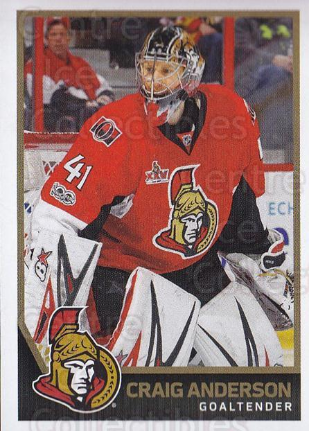 2017-18 Panini Stickers #155 Craig Anderson<br/>1 In Stock - $1.00 each - <a href=https://centericecollectibles.foxycart.com/cart?name=2017-18%20Panini%20Stickers%20%23155%20Craig%20Anderson...&quantity_max=1&price=$1.00&code=767964 class=foxycart> Buy it now! </a>