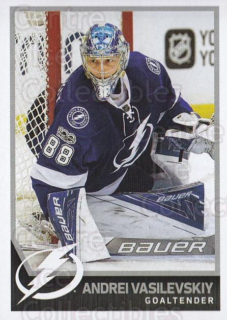 2017-18 Panini Stickers #197 Andrei Vasilevskiy<br/>1 In Stock - $1.00 each - <a href=https://centericecollectibles.foxycart.com/cart?name=2017-18%20Panini%20Stickers%20%23197%20Andrei%20Vasilevs...&quantity_max=1&price=$1.00&code=768006 class=foxycart> Buy it now! </a>