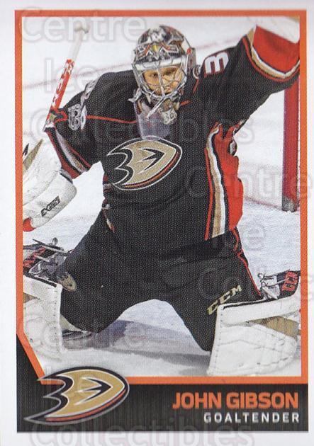 2017-18 Panini Stickers #239 John Gibson<br/>1 In Stock - $1.00 each - <a href=https://centericecollectibles.foxycart.com/cart?name=2017-18%20Panini%20Stickers%20%23239%20John%20Gibson...&quantity_max=1&price=$1.00&code=768048 class=foxycart> Buy it now! </a>