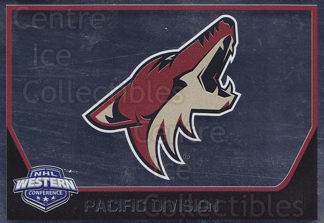 2017-18 Panini Stickers #248 Arizona Coyotes<br/>1 In Stock - $1.00 each - <a href=https://centericecollectibles.foxycart.com/cart?name=2017-18%20Panini%20Stickers%20%23248%20Arizona%20Coyotes...&quantity_max=1&price=$1.00&code=768057 class=foxycart> Buy it now! </a>