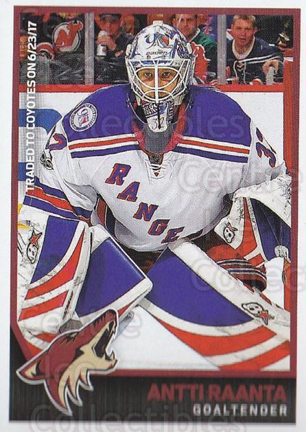 2017-18 Panini Stickers #254 Antti Raanta<br/>1 In Stock - $1.00 each - <a href=https://centericecollectibles.foxycart.com/cart?name=2017-18%20Panini%20Stickers%20%23254%20Antti%20Raanta...&quantity_max=1&price=$1.00&code=768063 class=foxycart> Buy it now! </a>