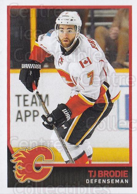 2017-18 Panini Stickers #268 TJ Brodie<br/>1 In Stock - $1.00 each - <a href=https://centericecollectibles.foxycart.com/cart?name=2017-18%20Panini%20Stickers%20%23268%20TJ%20Brodie...&quantity_max=1&price=$1.00&code=768077 class=foxycart> Buy it now! </a>